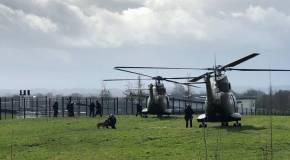 Le RAID et la PJ à la prison de Condé-sur-Sarthe pour procéder à des interpellations