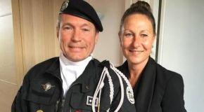«Femme de policier d'élite»: «Derrière chaque uniforme, il y a des familles qui tremblent»