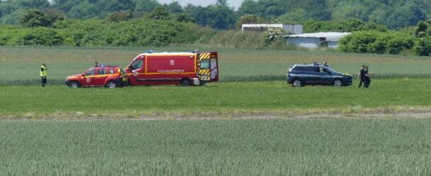 Un parachutiste du RAID se crashe sur l'aéroport de Péronne-Estrées-Mons