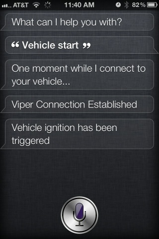Siri - Controls My Car