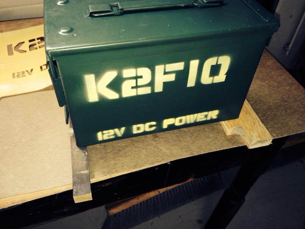 12V DC Ammo Can Power Box v1.0