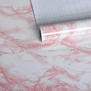 pink granite contact paper