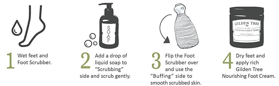 how to use simple instructions daily man treatment repair peel cuticle handle rasp cream