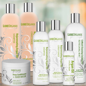LuxeOrganix complimentary products to meet your hair and skin care needs...bundle and save!