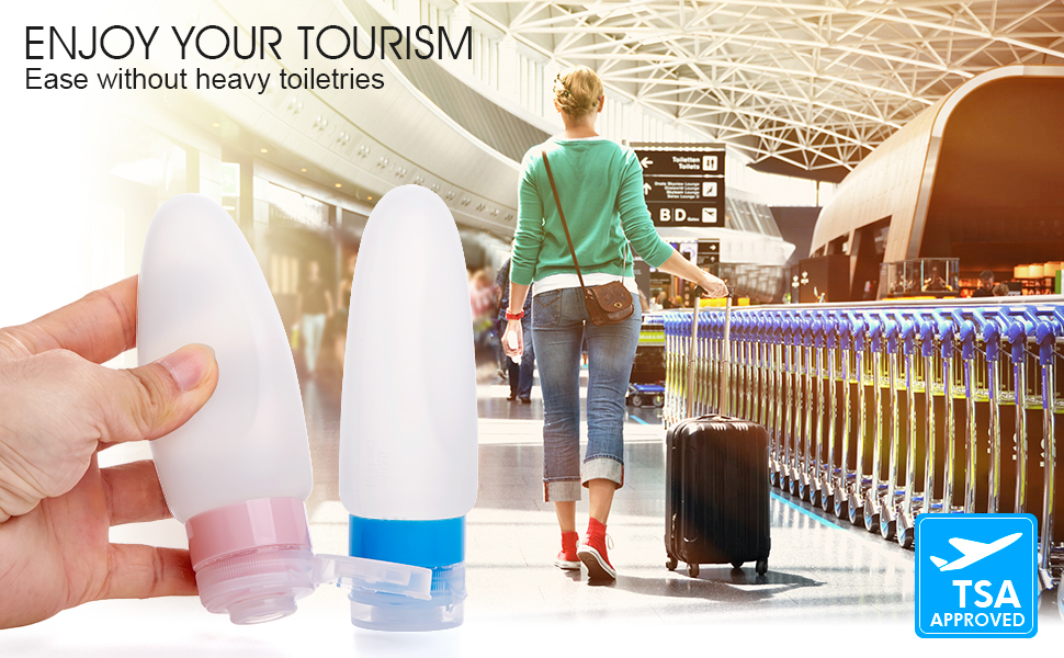 travel bottles for travel and business