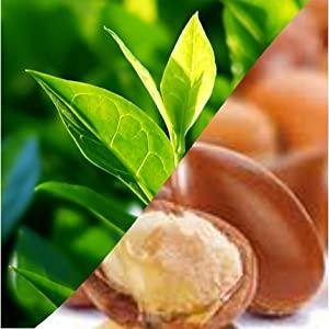 tea tree and argan oil