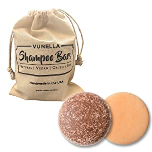 Argan and Citrus Shampoo and Conditioner Bars