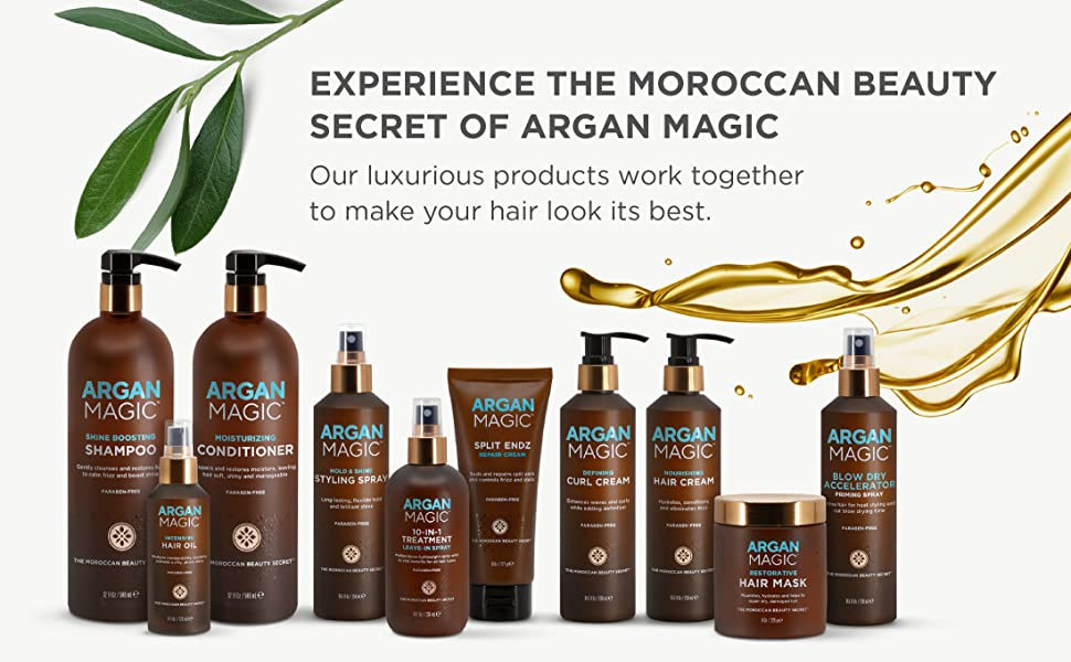 Argan Magic Product Range