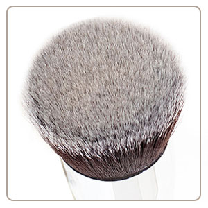 foundation brush dense bristles
