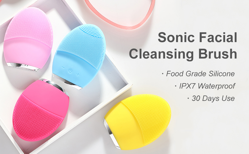 Sonic Facial Cleansing Brush