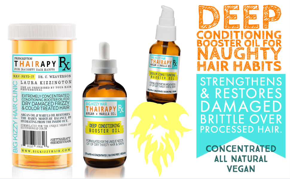 DEEP CONDITIONING BOOSTER OIL FOR DRY DAMAGED COLORED HAIR AND EXTENSIONS