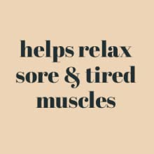 relaxing sore tired muscles almond oil