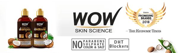 Coconut milk hair conditioner hair shampoo wow hair products