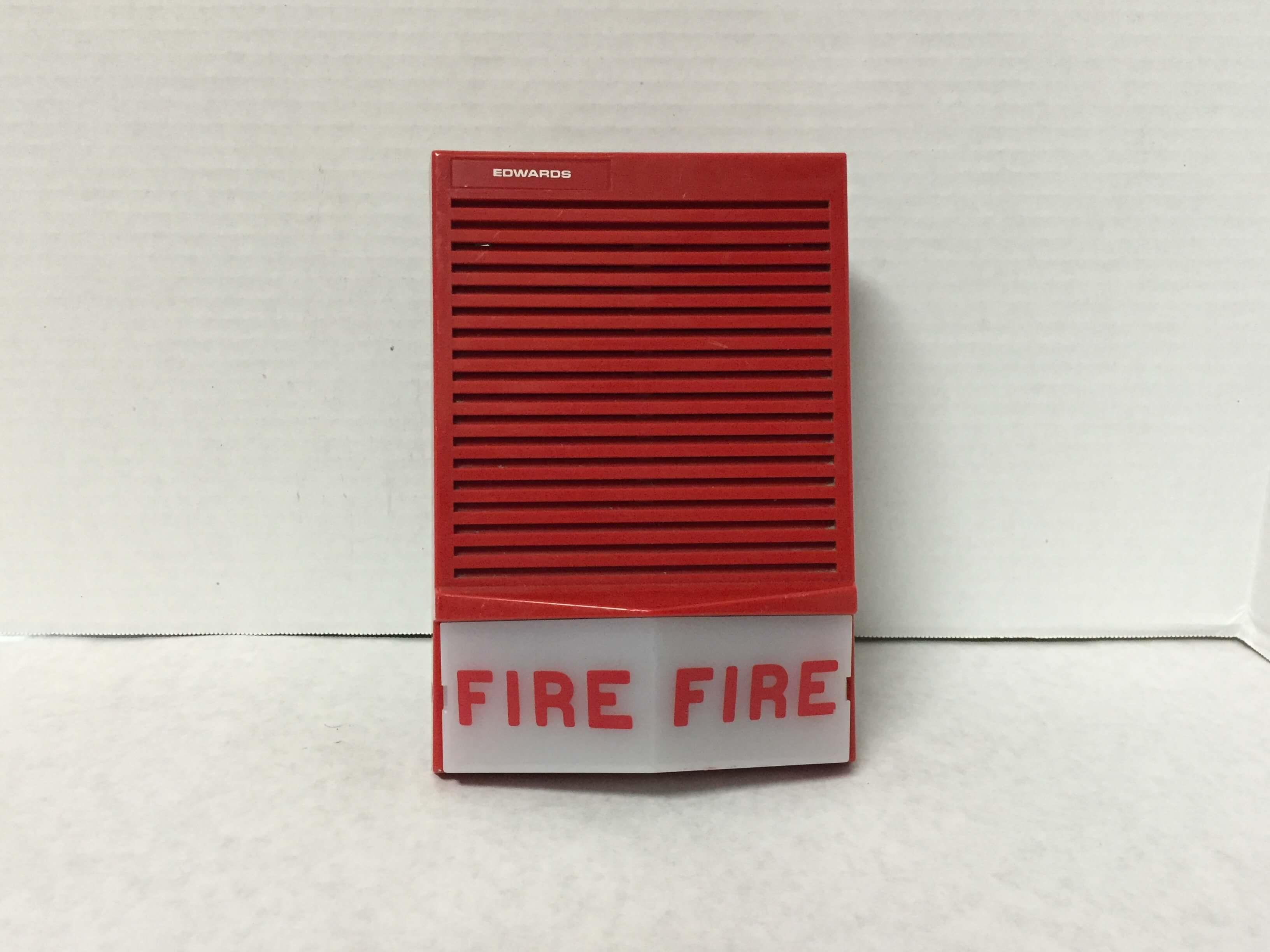 Edwards Fire Alarm Horn Sound