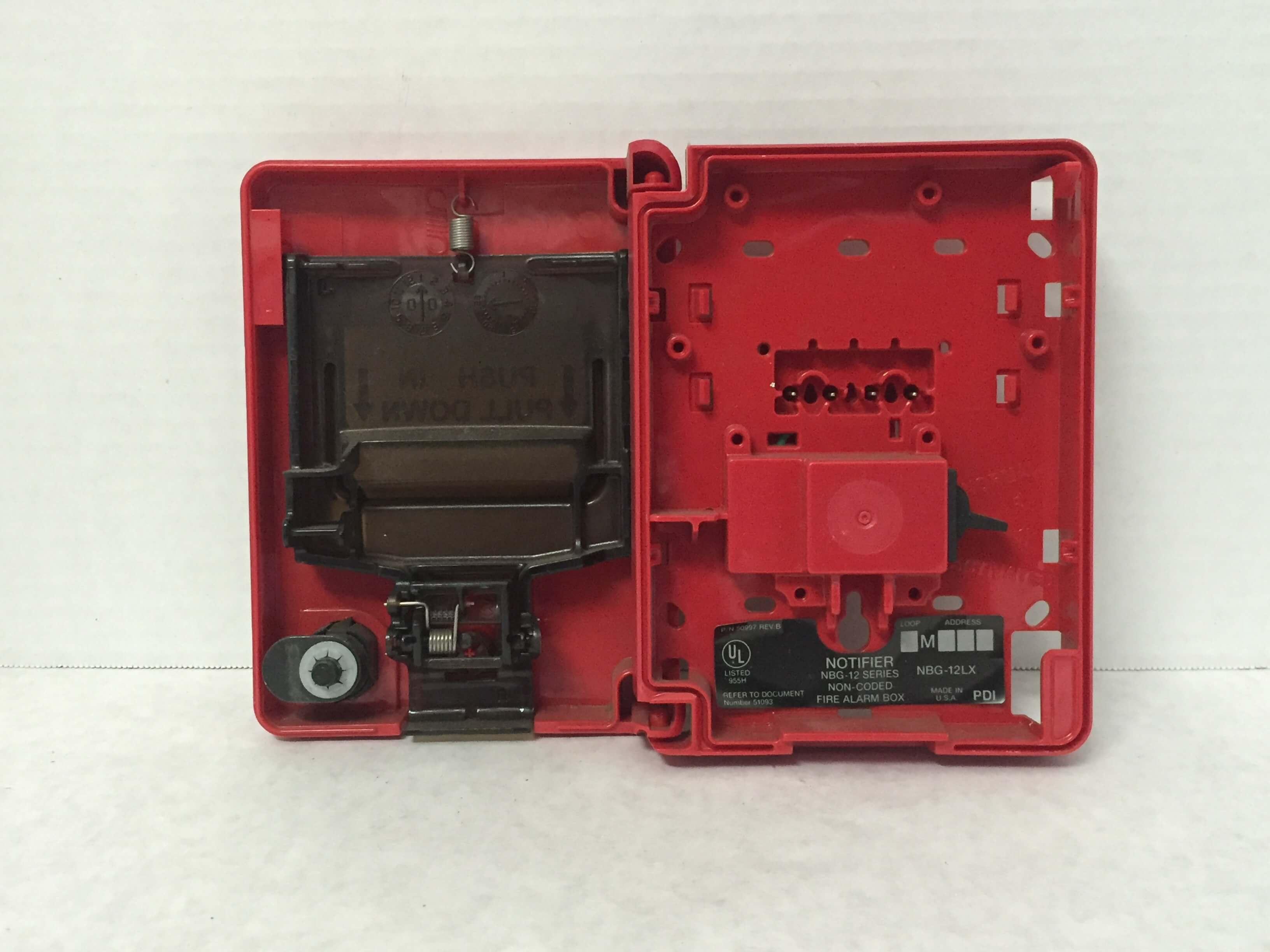 Key Notifier 12 Pull Station Bg
