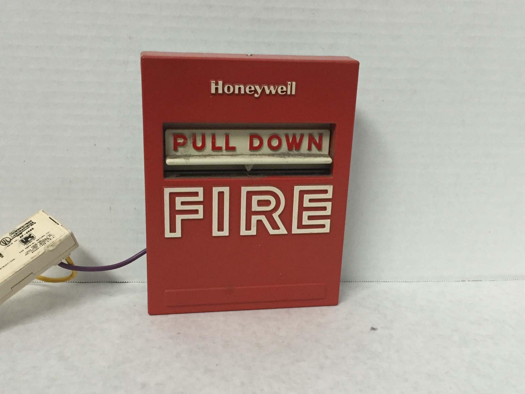 hight resolution of brand honeywell model s464a manufacturer honeywell type pull station