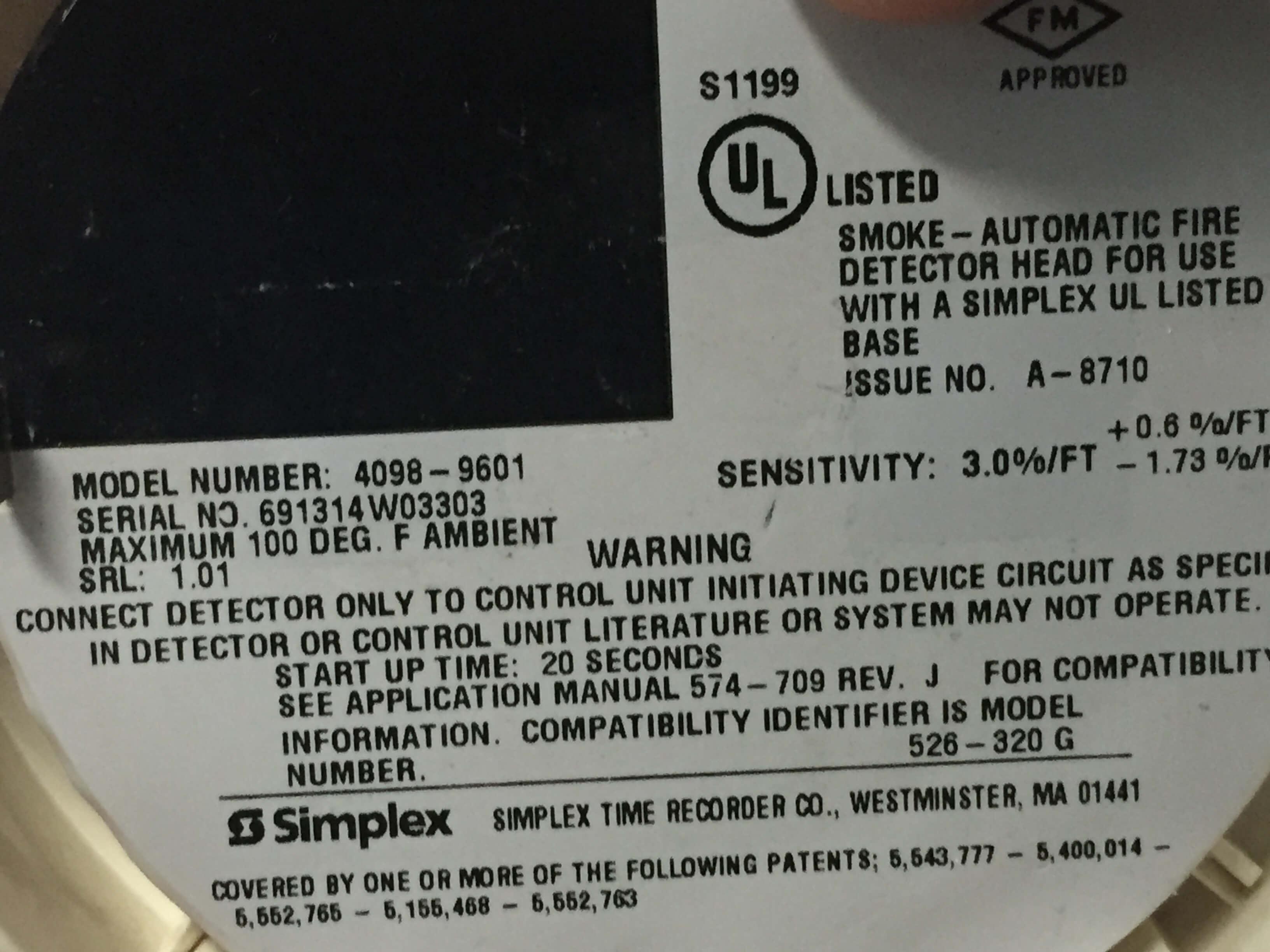 simplex duct detector 4098 wiring diagram ez go gas 9714 smoke diagrams