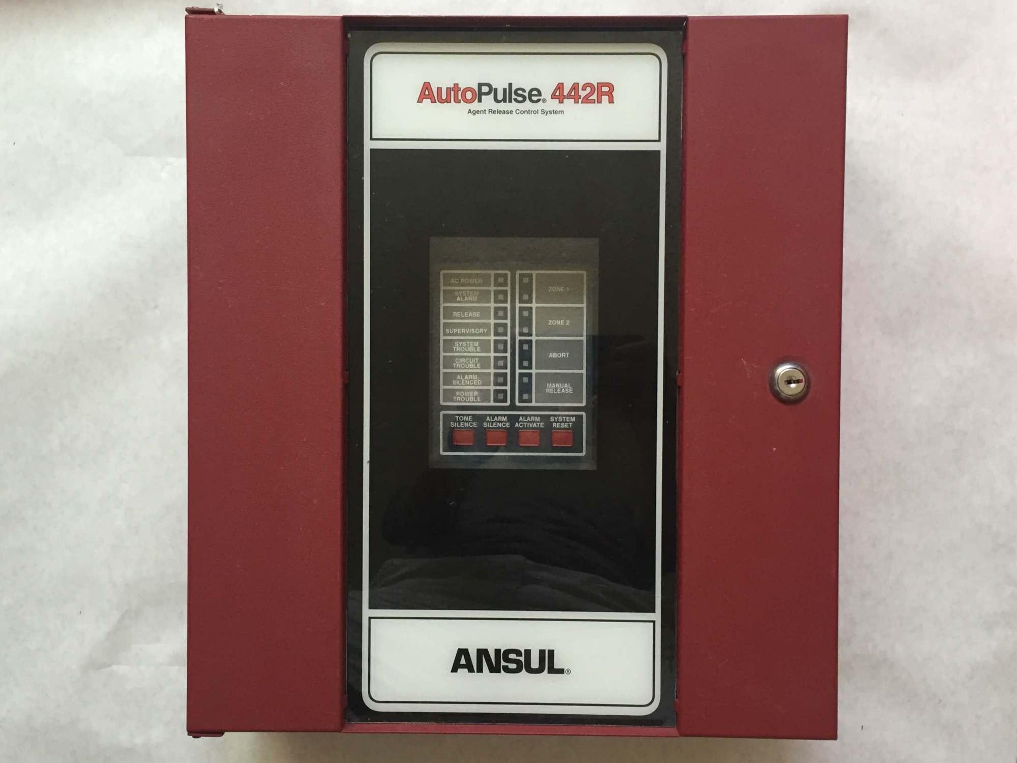 hight resolution of ansul autopulse 442r