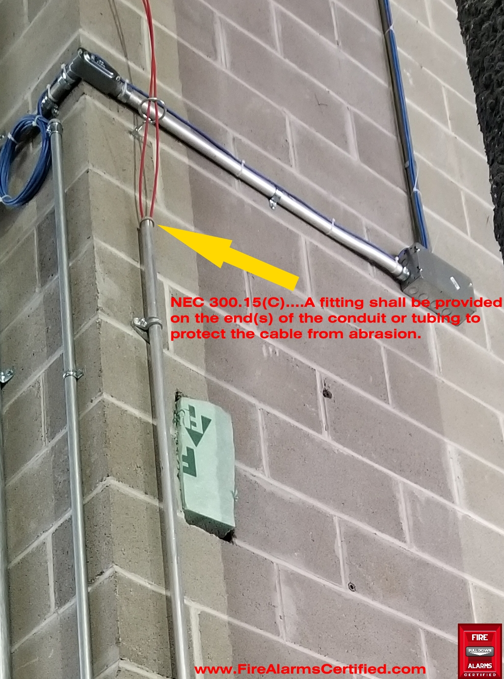 hight resolution of fire alarm cables height requirement nicet certification exam