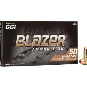 CCI Ammunition Blazer Centerfire 10mm 180 Grain 50 Rounds Full Metal Jacket