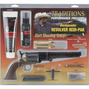 Traditions 1858NEW Army 44BRASS RedIPK