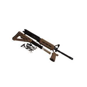 Del-Ton M4 Magpul M-LOK Rifle Kit Flat Dark Earth .223 / 5.56 NATO 16-inch Upper and Lower Parts Kit
