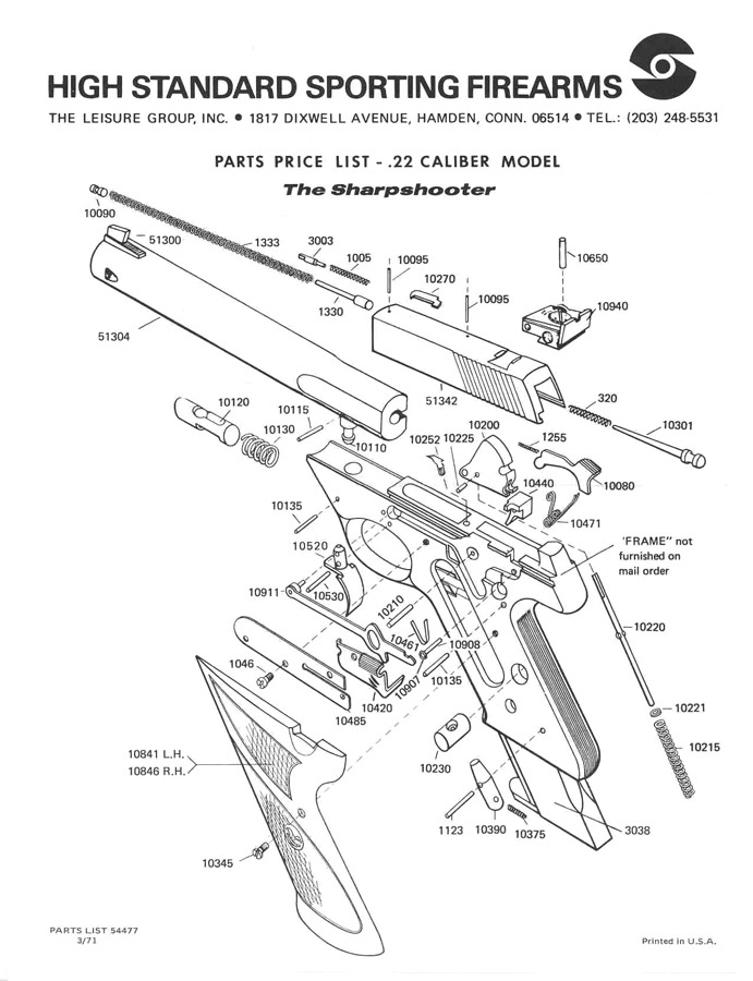 Over 8,000 printable gun schematics (diagrams) and