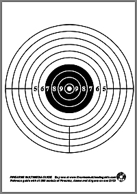 500 Free Printable Targets on Firearms Multimedia Guide