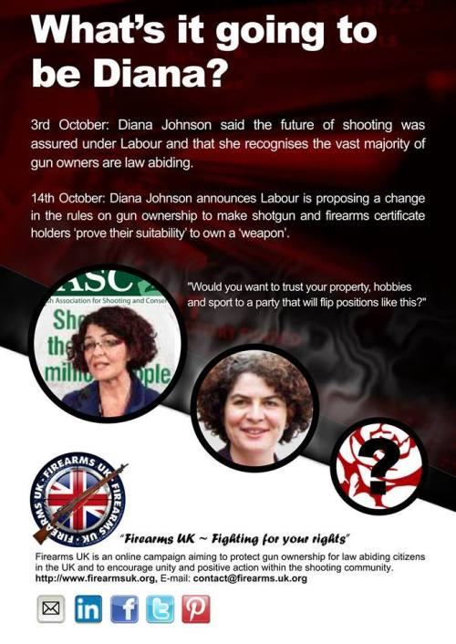 A Firearms UK meme on Labor's confusing position on shooting