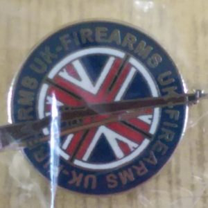 Firearms UK Lapel Pin