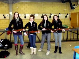 Cambridge University Ladies Target Rifle Team, Courtesy Lizzie Potter