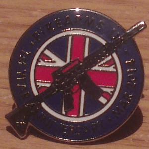 Lapel Pin Close up