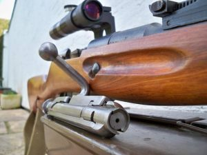 Bolt of 91/30 'Sniper Rifle' Dave Voisey