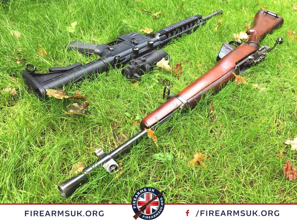 Firearms UK - Unity - Smith & Wesson M&P 15-22 and Lee Enfield No. 5, Jungle Carbine