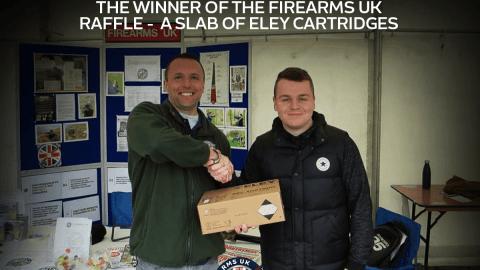 Firearms UK Raffle Winner, Eley Cartridges
