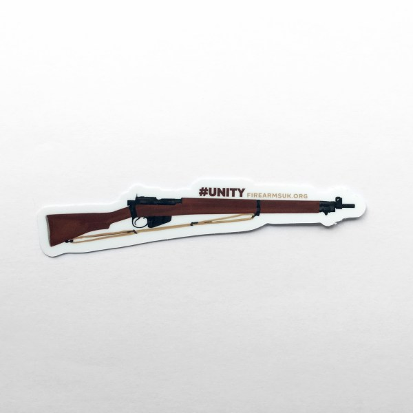 Firearms-UK Stickers - Lee Enfield