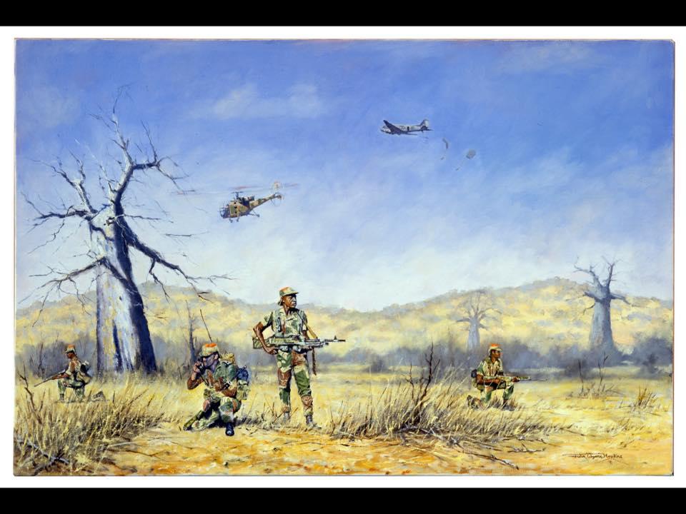 Stories Of Rhodesia:SAS attack on a FRELIMO radio transmitter