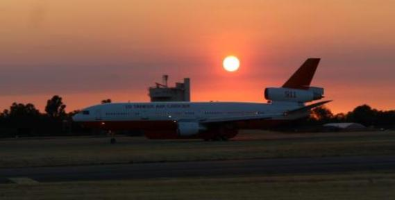 Petition drive organized to hire the DC-10 air tankers