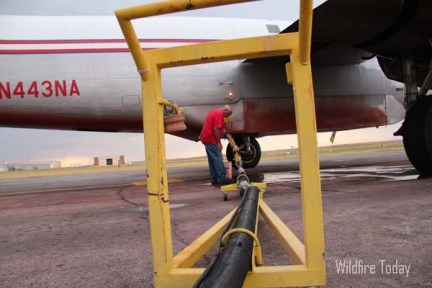 Journalism students write about air tankers