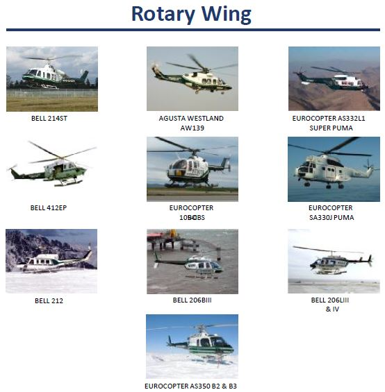 Evergreen helicopters