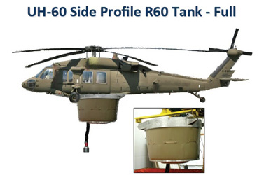 RECOIL Blackhawk fire suppression tank