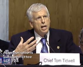 USFS Chief Tom Tidwell, 5-22-2013