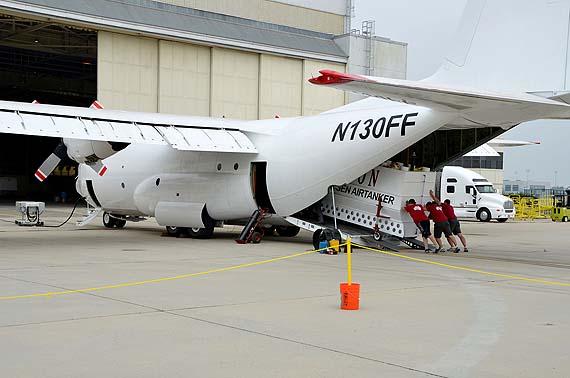 Coulson's T-130, a C-130Q