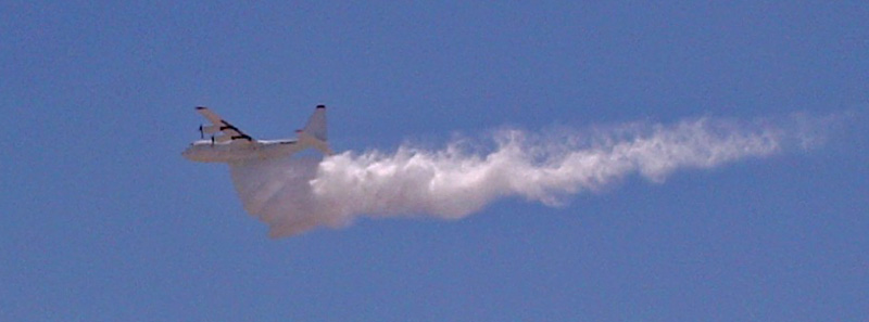T-130 first partial drop test