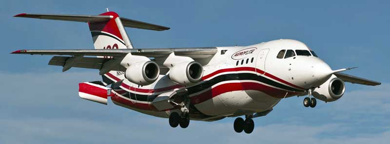 Conair RJ85 first flight