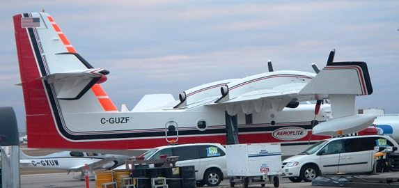Aero Flite CL-415 at Winnipeg