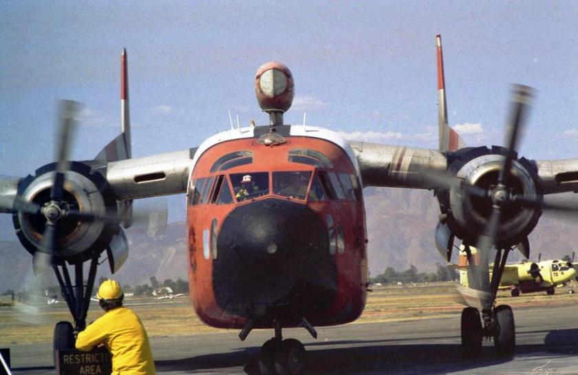 C-119 at Hemet. Photo by Steve Whitby.