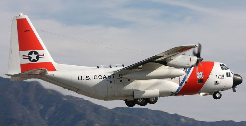 Coast Guard C-130H No 1714