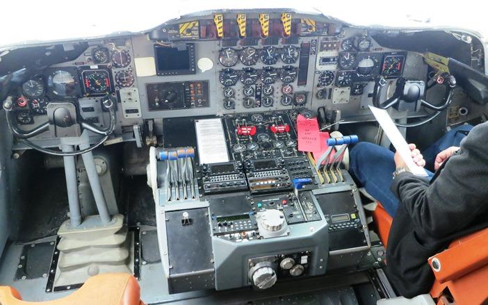 P3 flight deck