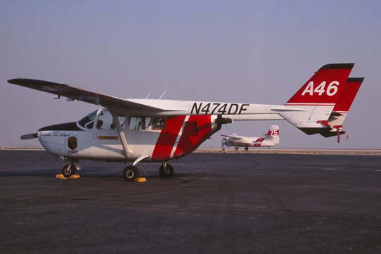 Air Attack A26, a Cessna Skymaster